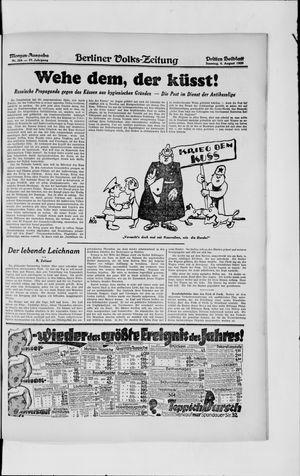Berliner Volkszeitung vom 04.08.1929