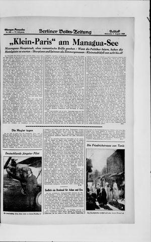 Berliner Volkszeitung vom 07.08.1929