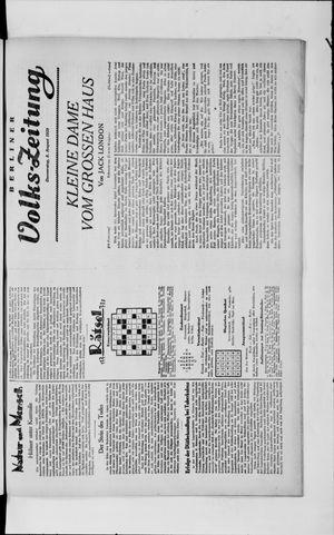 Berliner Volkszeitung vom 08.08.1929