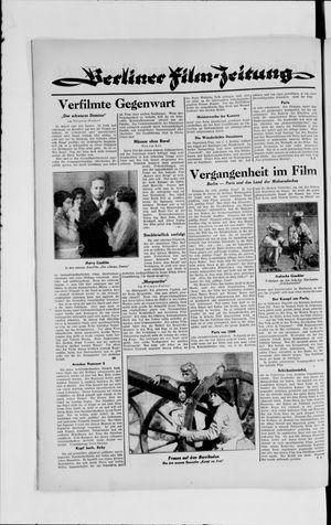 Berliner Volkszeitung vom 21.08.1929