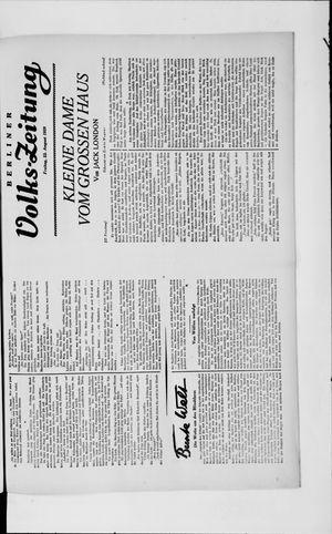 Berliner Volkszeitung vom 23.08.1929