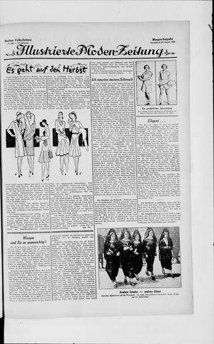 Berliner Volkszeitung vom 24.08.1929