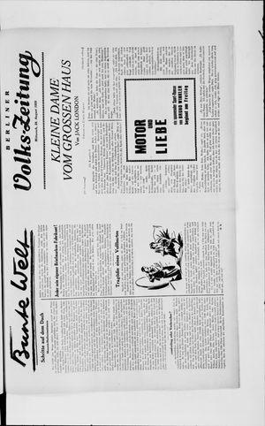 Berliner Volkszeitung vom 28.08.1929
