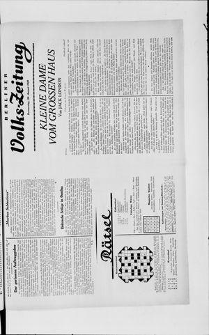 Berliner Volkszeitung vom 29.08.1929