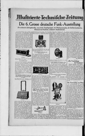 Berliner Volkszeitung vom 05.09.1929