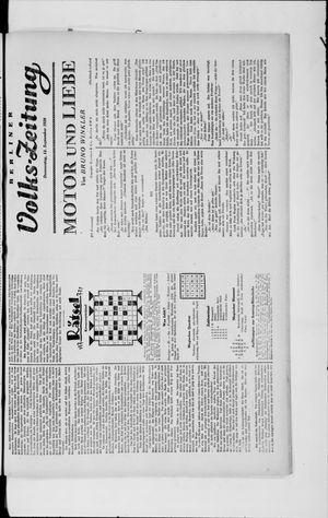 Berliner Volkszeitung vom 12.09.1929