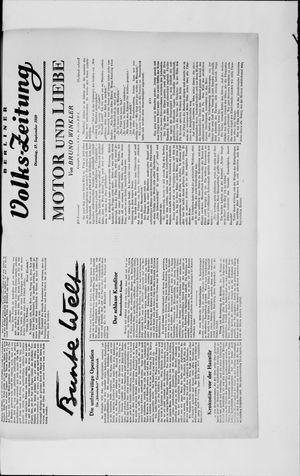 Berliner Volkszeitung vom 17.09.1929