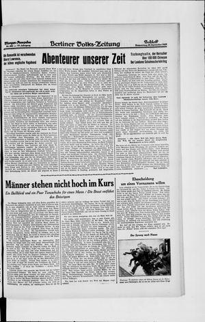 Berliner Volkszeitung vom 26.09.1929