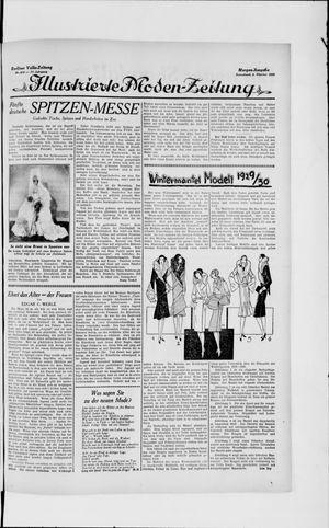 Berliner Volkszeitung vom 05.10.1929