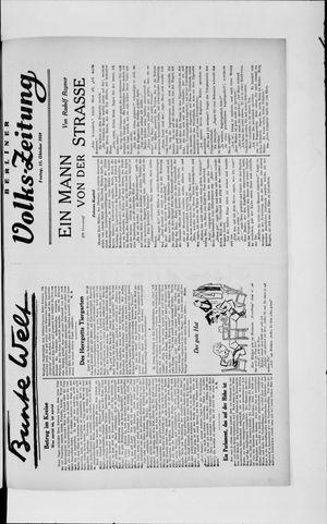 Berliner Volkszeitung vom 11.10.1929