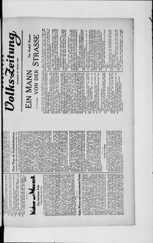 Berliner Volkszeitung vom 12.10.1929