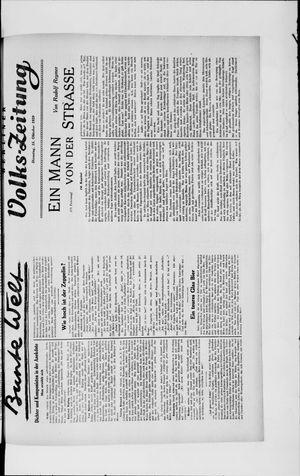 Berliner Volkszeitung vom 15.10.1929