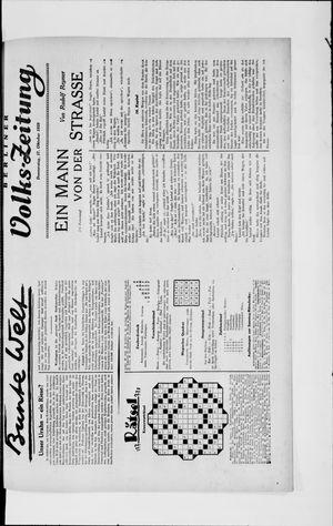 Berliner Volkszeitung vom 17.10.1929