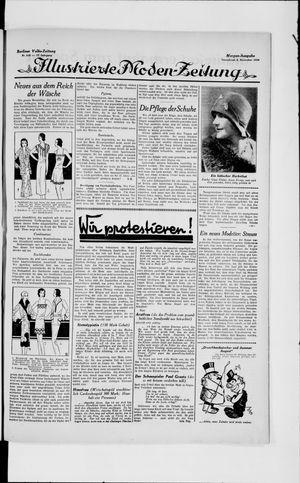 Berliner Volkszeitung vom 02.11.1929