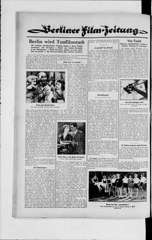 Berliner Volkszeitung vom 27.11.1929