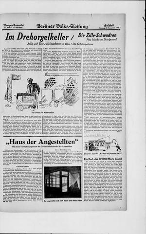 Berliner Volkszeitung vom 03.12.1929