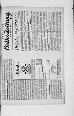 Berliner Volkszeitung vom 08.12.1929