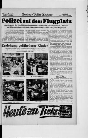 Berliner Volkszeitung vom 20.12.1929