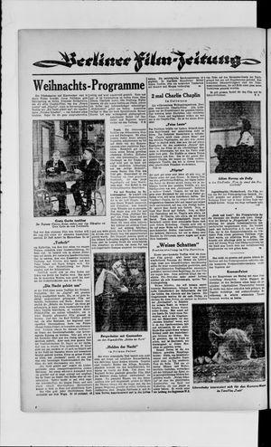 Berliner Volkszeitung vom 25.12.1929