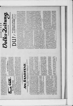 Berliner Volkszeitung vom 04.01.1930
