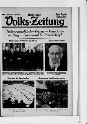 Berliner Volkszeitung vom 06.01.1930