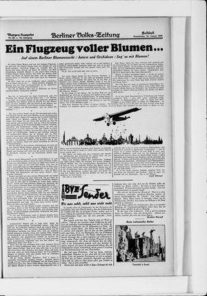 Berliner Volkszeitung vom 16.01.1930