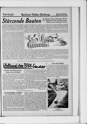 Berliner Volkszeitung vom 26.01.1930