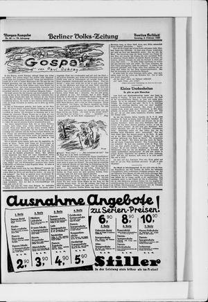 Berliner Volkszeitung vom 02.02.1930
