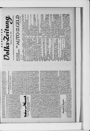 Berliner Volkszeitung vom 04.02.1930