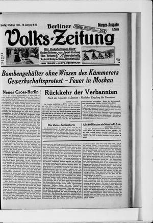 Berliner Volkszeitung vom 09.02.1930