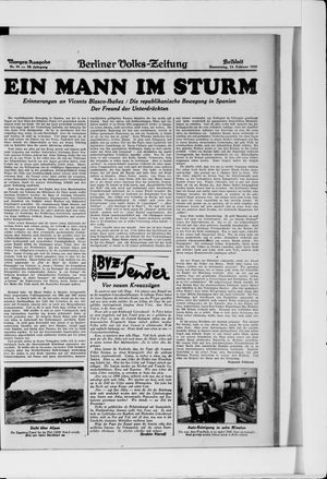 Berliner Volkszeitung vom 13.02.1930