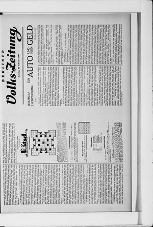 Berliner Volkszeitung vom 23.02.1930