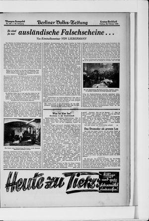 Berliner Volkszeitung vom 28.02.1930