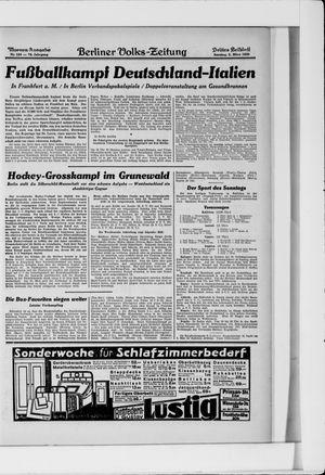 Berliner Volkszeitung vom 02.03.1930