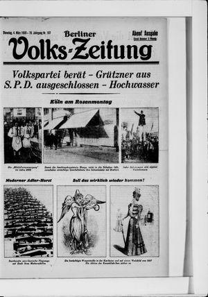 Berliner Volkszeitung vom 04.03.1930