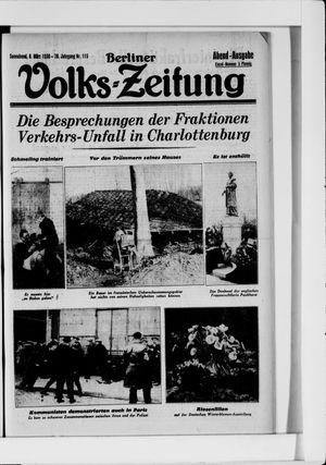 Berliner Volkszeitung vom 08.03.1930