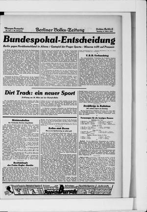 Berliner Volkszeitung vom 09.03.1930