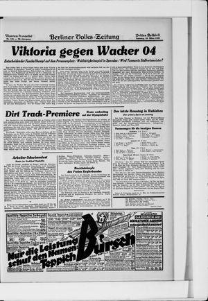 Berliner Volkszeitung vom 16.03.1930