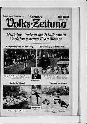 Berliner Volkszeitung vom 17.03.1930