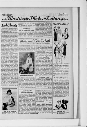 Berliner Volkszeitung vom 22.03.1930