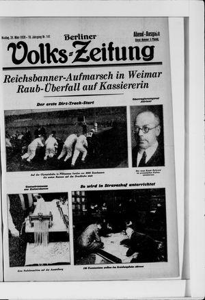 Berliner Volkszeitung vom 24.03.1930