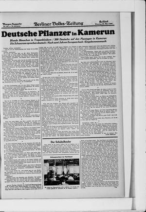 Berliner Volkszeitung vom 25.03.1930