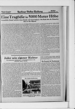 Berliner Volkszeitung vom 26.03.1930
