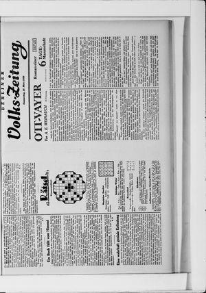 Berliner Volkszeitung vom 27.03.1930