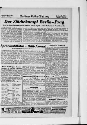 Berliner Volkszeitung vom 06.04.1930