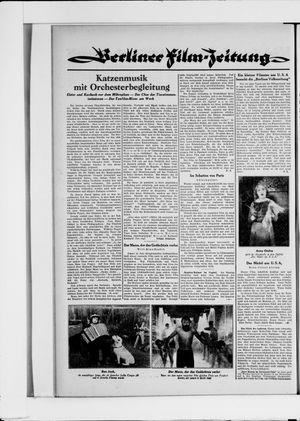 Berliner Volkszeitung vom 09.04.1930