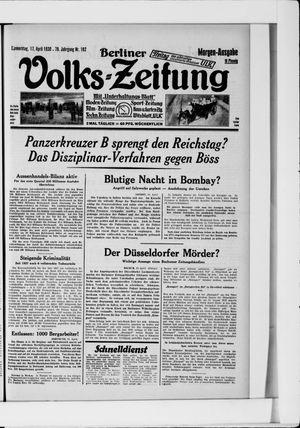 Berliner Volkszeitung vom 17.04.1930