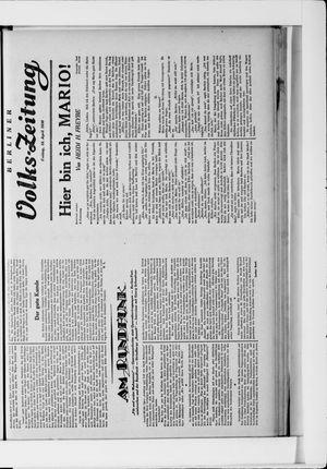Berliner Volkszeitung vom 18.04.1930