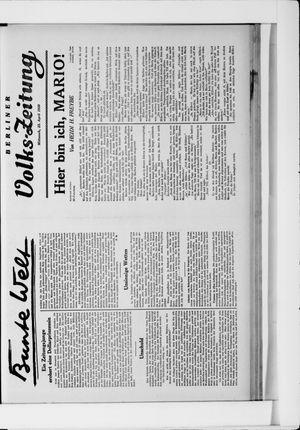 Berliner Volkszeitung vom 23.04.1930