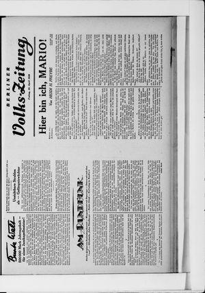 Berliner Volkszeitung vom 25.04.1930